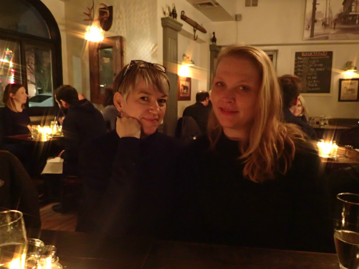 Harriet McCaig and Kate Graves @ Le Paddock, Windsor Terrace NY