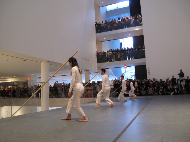 Trisha Brown Dance Company: Sticks (1973) @ MoMA - #2