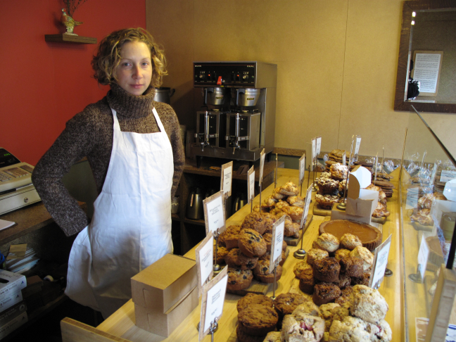 Liz of The City Bakery is Reflecting on the Fact That Her Organization Feeds Countless Visitors to The New Museum