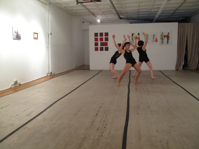 The Purchase College Conservatory of Dance at Gallery 151