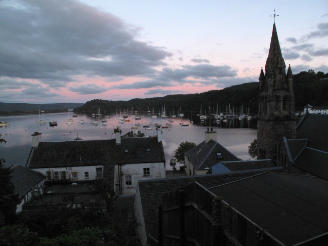 Tobermory is the capital of the Isle of Mull