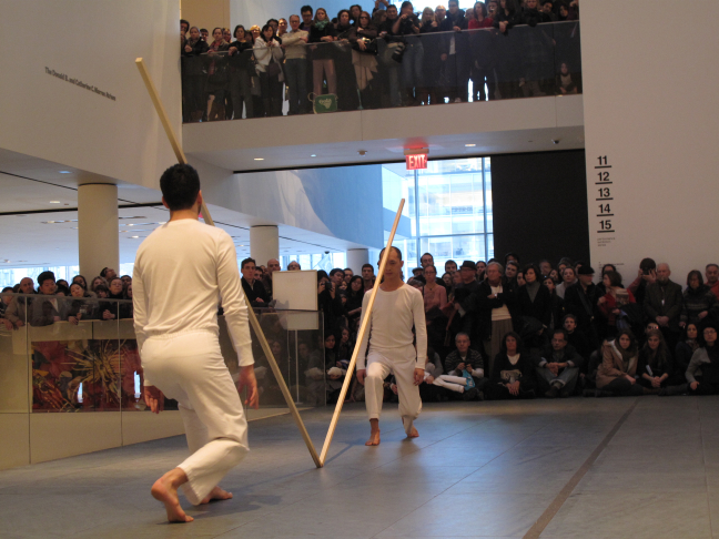 Trisha Brown Dance Company: Sticks (1973) @ MoMA - #1