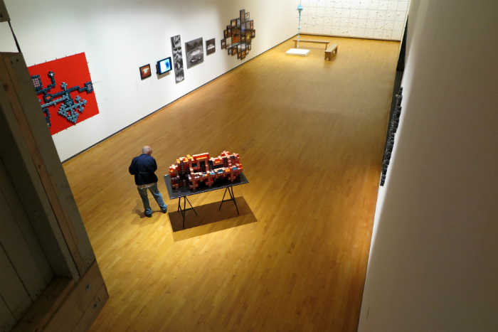 A visit to Mass MoCA in North Adams with musician Thomas Crouch.