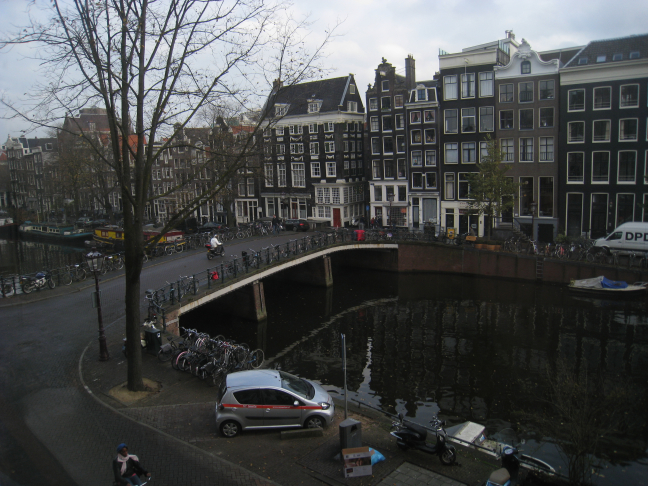A Visit to Lucas's Apartment Overlooking Amsterdam's Singel Canal