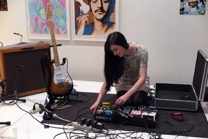Sarah Lipstate( AKA Noveller ) @ The Museum of Modern Art