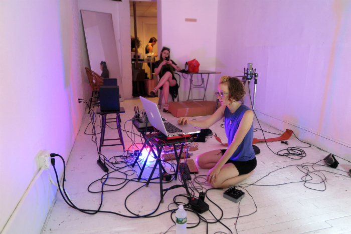 Live Presence + Anastasia Clarke @ Situations Gallery, NYC.