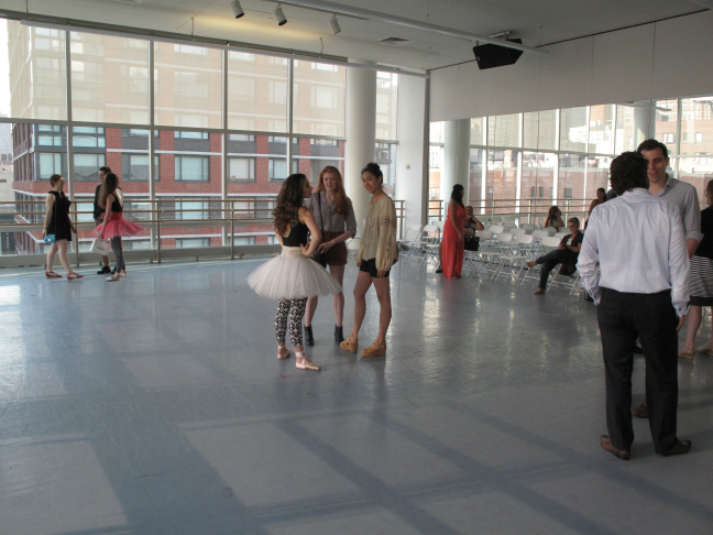 BalletNext Open Rehearsal @ The Alvin Ailey Dance Studios