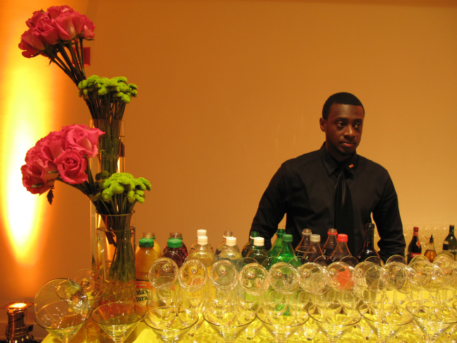 Nicholas Croft Engages In A Photographic Dialog With The NAMI Gala Bartender
