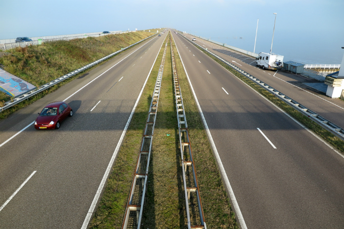 Contemplating the future of Holland's Dike Technology at The Afsluitdijk.